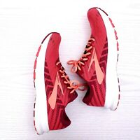 Brooks Launch 6 Women's Size 8 Rumba Red Berry Coral Running Shoes 1202851B628