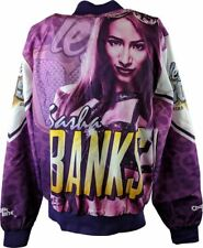 Sasha Banks Chalkline WWE Fanimation Jacket