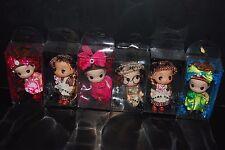 Lot 6pc Mini Dolls 5