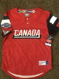 Canada Replica Little League World Series Fan Jersey 2019 Brand New With Tags