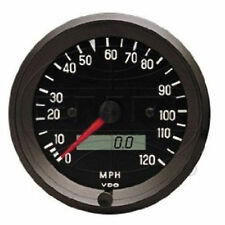 VW BUG AIR COOLED, VDO COCKPIT SPEEDOMETER ,160 MPH, 3-3/8  437053