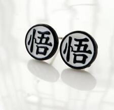2pcs dragon ball 悟 fashion earring ear stud earrings studs anime cool