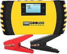 GOOLOO 1500A Peak 20800mAh SuperSafe Car Jump Starter Auto Battery Booster