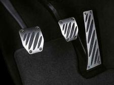 Original BMW Performance Edelstahl Pedalauflagen Schaltgetriebe 35002213213