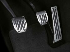 Original BMW Performance Edelstahl Pedalauflagen Schaltgetriebe NEU 35002213213