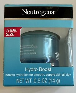 2 of Neutrogena Hydro Boost Water with Hyaluronic Acid for Dry Skin, 0.5 oz