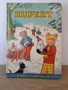 Vintage Rupert and the iron spade annual 1974