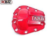 Cubierta de metal rojo Diff arb T-Rex 60 Eje diferencial INC Adhesivo RC4WD Z-S0220