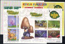 "Palau 1998 ""bug's life""/DISNEY/films/CINEMA/ANIMATION/insectes 4 x 4 V M/S b798c"