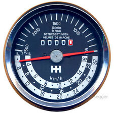 Traktormeter passend für IHC rechts drehend bis 30km//h Tacho Schlepper Neu 60254