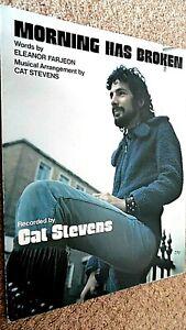 CAT STEVENS: MORNING HAS BROKEN (SHEET MUSIC)
