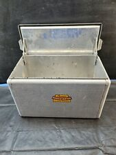 Vintage Retro Cronco All Aluminum Cooler Cronstrom's Co. Port-o-Rator