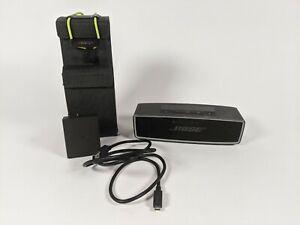 Bose SoundLink Mini II 2 Bluetooth Speaker Blown Speaker Works *For Parts*