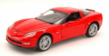 Chevrolet Corvette Z06 2006 Red 1:24 Model 0243 WELLY