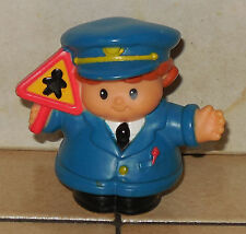 Fisher Price Current Little People School Crossing Guard Fplp