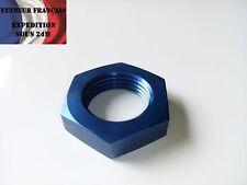 Ecrou pour passe cloison Dash 4 AN 4, anodisé bleu, VENDEUR FRANCAIS