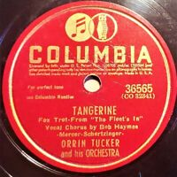 Orrin Tucker And His Orch | Tangerine / Always In My Heart‎ | Columbia EP 1942