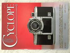 CYCLOPE FRENCH PHOTO MAGAZINE FOR COLLECTOR, Nº 49-50 - NEW