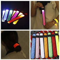 Safety Reflective LED Light Arm Armband Strap Belt For Night Cycling Running