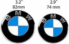 BMW 82MM & 74MM Badge Bonnet Boot Emblem bonnet or tailgate E46 E90 E91 M3 X5 Z3