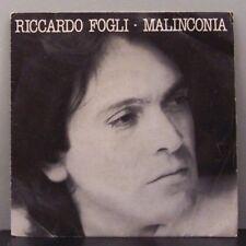 """(o) Riccardo Fogli - Malinconia (7"""" Single, Italy)"""
