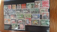 Briefmarken Grossbritanien Kolonien Britisch Guayana 1863, 1921,1931,1953 Jahre.