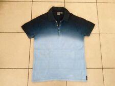 A / X   ARMANI EXCHANGE     Cotton Knit   Polo Top      Blue    Size M