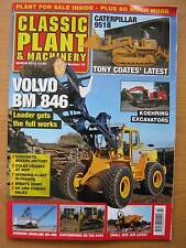 Classic Plant & Machinery March 2015 Volvo BM 846 Koehring Caterpillar 951B JCB