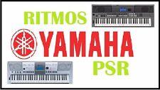 mas de 1000 ritmos mexicanos ,baladas,cumbias para teclados yamaha psr  y tyros