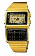 Casio Databank DBC611G-1D Stainless Steel Plated Strap Watch