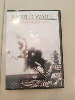 World War II Harbour Battles - Sealed New (DVD 2006).