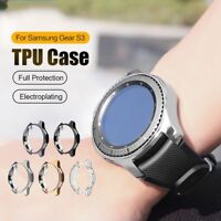 Electroplated TPU Case Shell For Samsung Galaxy Gear S3 Frontier Cover Frame