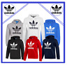 Adidas Originals Men's Trefoil Fleece HOODIE Hooded Sweatshirt Jumper Top Zipper