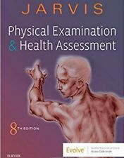 Physical Examination and Health Assessment Jarvis 8 Edition'' (p.D;f)