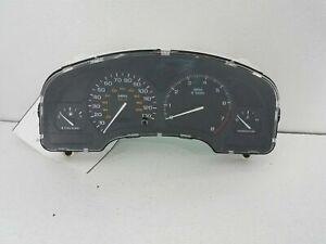 2002 02 saturn SL2 SC2 DOHC speedometer gauge cluster 21025356 ?miles? oem