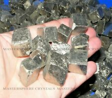 1KG Iron Pyrite Rough Cubes / Nuggets 15mm-25mm Spain Mineral Crystal