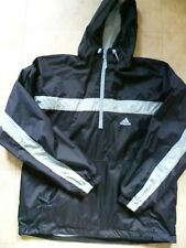 "Men's Adidas Training Hoody Windcheater Water Resist Ventilated S: XL 42-44"" VGC"