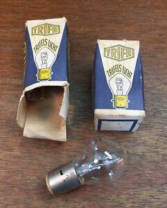 NOS TRIFA 6-Volt Dual Filament Light Bulbs for Porsche 356 - 6V