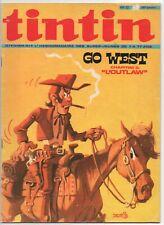 TINTIN  12  COMIC MAGAZINE  C. 1971  FRENCH  BELGIUM
