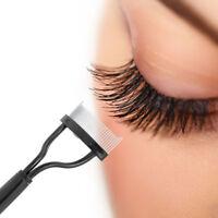 Eyelash Brushes Makeup Metal Lash Separator Mascara Lift Curl Beauty Makeup Tool