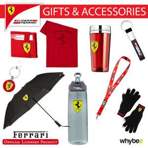 Ferrari F1 Formula One Team Official Accessories & Gifts Vettel & Raikkonen Fans