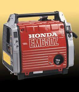 HONDA EM650 PORTABLE GENERATOR SERVICE & USER MANUALS ON CD + DOWNLOAD