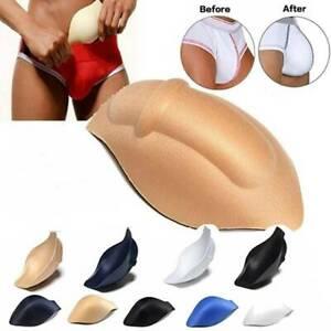 Men's Sponge Pad Cushion Underwear 3D Cup Bulge Pouch Enhancer Swimwear Brief
