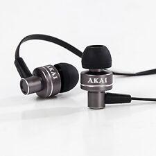 Akai A58049G Noise Isolating In Ear Headphone - Space Grey