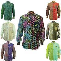 Mens Shirt Loud Originals REGULAR FIT Batik Random Retro Psychedelic Fancy