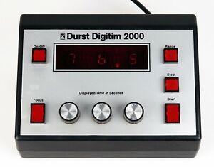 Durst Digitim S 2000 Timer Fotolabor enlarger works exactly. 13126