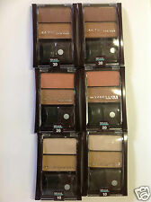 42 X MAYBELLINE MINERAL POWER BRONZING POWDER DUO ( ASSORTED 3 COLORS ) NEW.