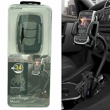Capdase T2 Car Lighter Dual USB Cradle Mount Holder Charger for iPhone 6 Plus 5s