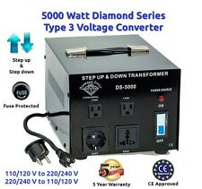 Diamond Series 5000 watts Step Up & Step Down voltage converter transformer