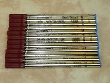 12 - Schmidt 5888 RollerBall Refills BLUE Medium 0.7